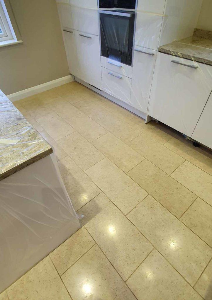 Limestone floor cleaning in Standon, Hertfordshire