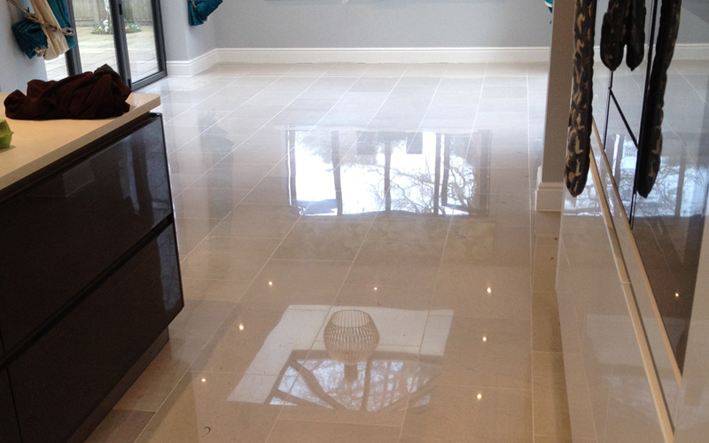 Resolve stone floor cleaning problems
