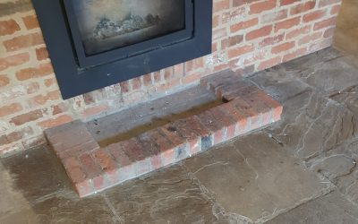 Essex flagstone floor cleaning