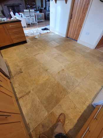 Sandstone Floor Cleaning Walkern