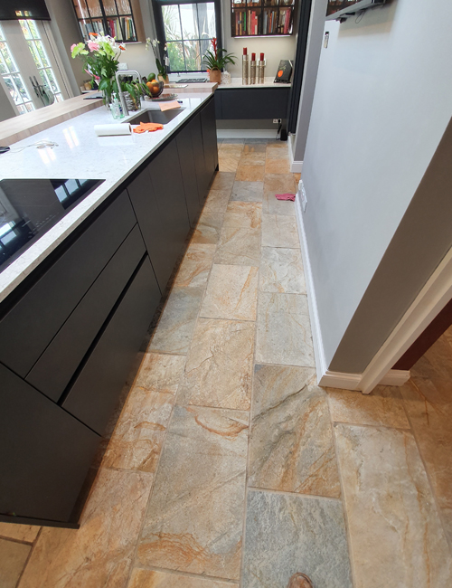 Hertfordshire best time for sandstone floor cleaning