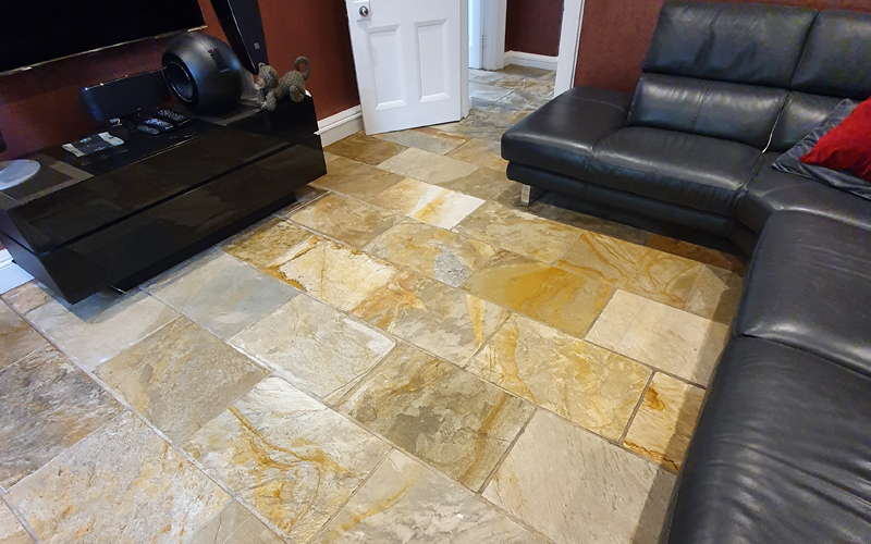 Hertfordshire: best time for sandstone floor cleaning