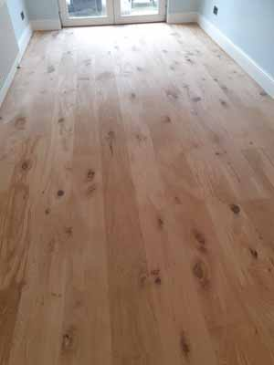 Dust Free Oak Floor Sanding - Wadesmill