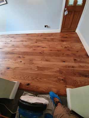 Dust Free Oak Floor Sanding - Hertfordshire