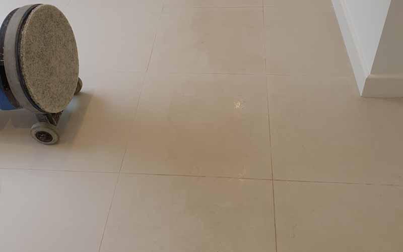 Porcelain floor tiles cleaned in Bengeo, Hertfordshire
