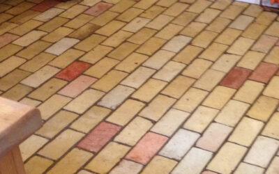 Brick Floor Cleaning Newmarket, Suffolk