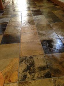 Cleaning slate tiles Hertfordshire
