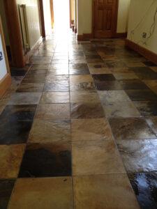 Restoring slate tiles Hertfordshire