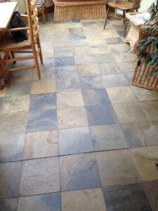 Slate Floor Restoration Hertfordshire