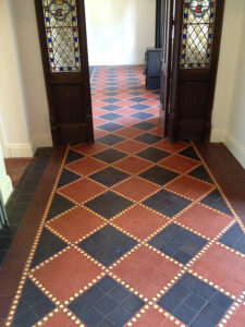 Cleaning Victorian Tiles Hitchin