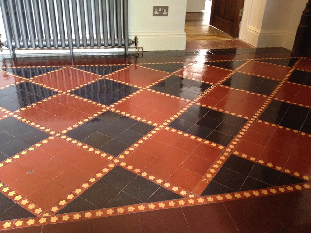Restoring Victorian Tiles Hitchin