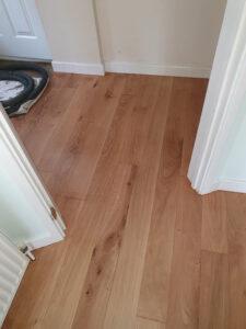 Restored wooden floors Bishops Stortford